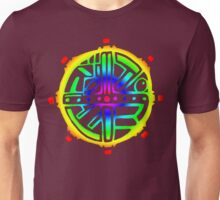 Tribal Circle Acid Sun  Unisex T-Shirt