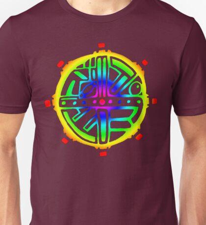 Tribal Circle Acid Sun  Unisex T-Shirt