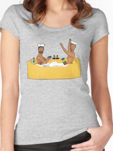 Anyone for Quoits!! Women's Fitted Scoop T-Shirt