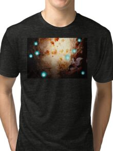 Spooky Forest and Fairy Tri-blend T-Shirt