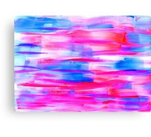 Watercolor texture, background, tie dyed. Canvas Print