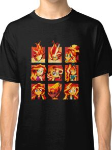 Forms of Sunset Shimmer Classic T-Shirt