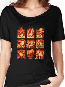 Forms of Sunset Shimmer Women's Relaxed Fit T-Shirt
