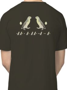 Penguin Morse Code Classic T-Shirt