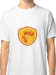 Rooster Eye Shutter Crest Retro Classic T-Shirt
