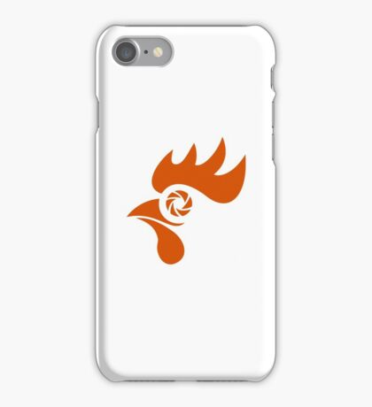 Rooster Eye Shutter Retro iPhone Case/Skin