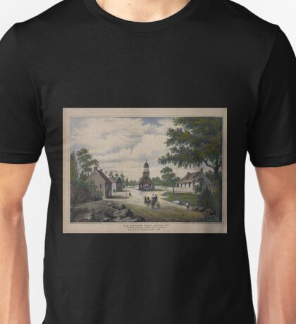 404 Old Reformed Dutch Church 1776 Formerly standing in Fulton St near Smith St Unisex T-Shirt