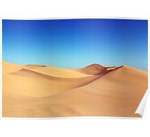 Algodones Dunes Poster