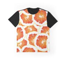 continuous pattern of orange slices Graphic T-Shirt