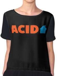 Acid House Music Quote Chiffon Top
