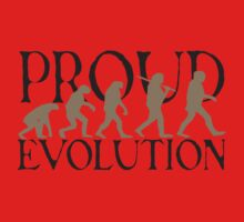 Proud Evolution Man Baby Tee