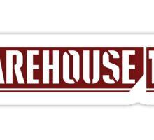 Warehouse 13 Sticker