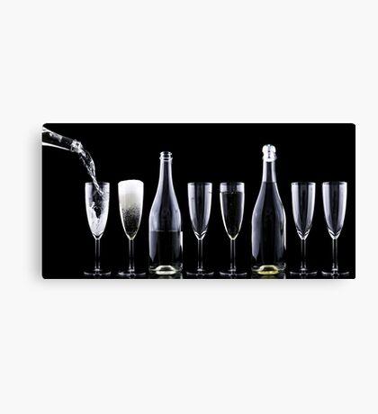 Champagner Canvas Print