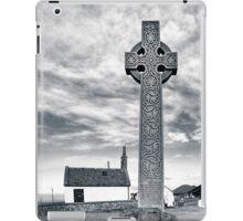 Contrasts - North Berwick Celtic Cross iPad Case/Skin