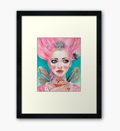 Marie Antoinette Queen Bee  Framed Print