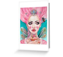 Marie Antoinette Queen Bee  Greeting Card