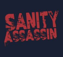 Sanity Assassin Red One Piece - Short Sleeve