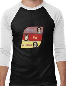 The Grand Tour - Short, Fat & Slow Men's Baseball ¾ T-Shirt