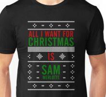 All I want for Christmas is Sam Merlotte Unisex T-Shirt