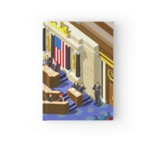 Election US Congress Hall Hardcover Journal