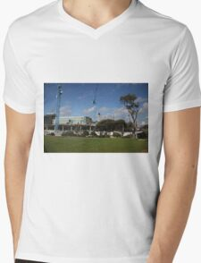 South East Water Frankston Office Construction 2 Mens V-Neck T-Shirt