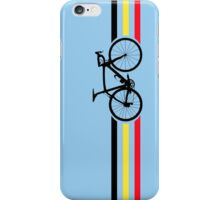 Bike Stripes Belgian National Road Race v2 iPhone Case/Skin