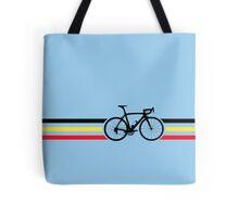 Bike Stripes Belgian National Road Race v2 Tote Bag