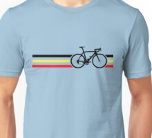 Bike Stripes Belgian National Road Race v2 Unisex T-Shirt