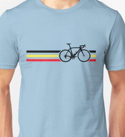 Bike Stripes Belgian National Road Race v2 Unisex T-Shirt