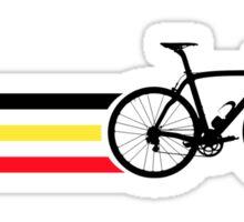 Bike Stripes Belgian National Road Race v2 Sticker