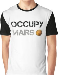 Occupy Mars Graphic T-Shirt