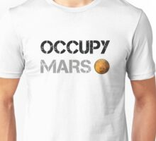 Occupy Mars Unisex T-Shirt