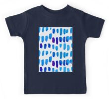 Watercolor texture, background, tie dyed. Kids Tee