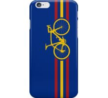 Bike Stripes Spanish National Road Race v2 iPhone Case/Skin