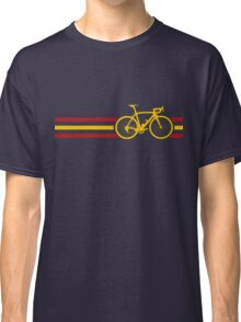 Bike Stripes Spanish National Road Race v2 Classic T-Shirt