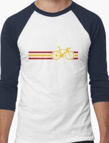 Bike Stripes Spanish National Road Race v2 Men's Baseball ¾ T-Shirt