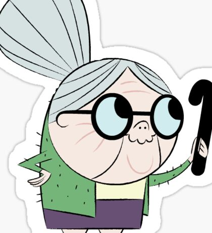 Fosters Home for Imaginary Friends Madam Foster Sticker