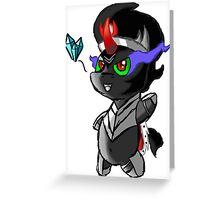 Chibi Sombra Greeting Card