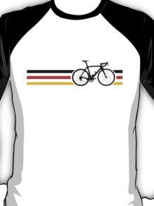 Bike Stripes German National Road Race v2 T-Shirt