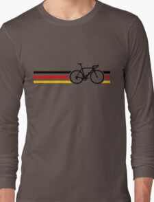 Bike Stripes German National Road Race v2 Long Sleeve T-Shirt