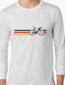 Bike Stripes German National Road Race v2 Long Sleeve T-Shirt