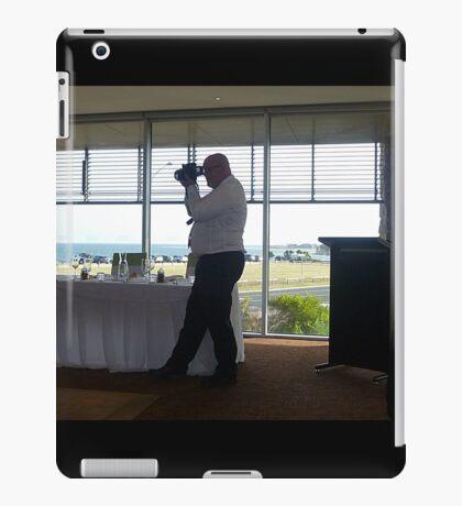 *Wedding photographer - Grandson's Wedding* iPad Case/Skin