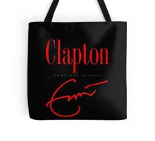 Men's Eric Clapton Complete Clapton Cover Short Sleeve T-Shirt Tote Bag