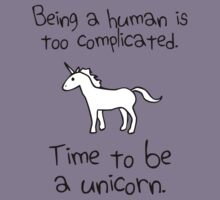 Time To Be A Unicorn Kids Clothes