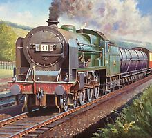 Ex-LMS Patroit on a milk train. by Mike Jeffries