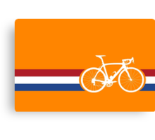 Bike Stripes Netherlands National Road Race Canvas Print
