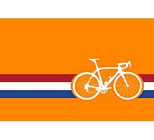 Bike Stripes Netherlands National Road Race Photographic Print