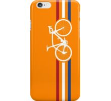 Bike Stripes Netherlands National Road Race v2 iPhone Case/Skin