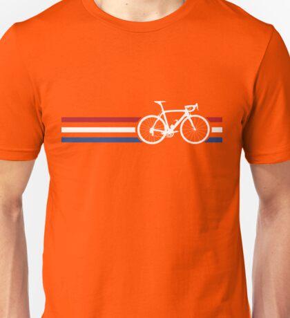 Bike Stripes Netherlands National Road Race v2 Unisex T-Shirt