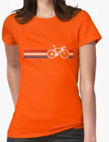 Bike Stripes Netherlands National Road Race v2 Womens Fitted T-Shirt